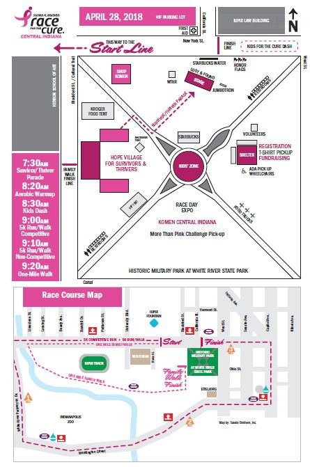 Atlanta Indiana Map.Susan G Komen Greater Atlanta 2018 Komen Central Indiana Race For